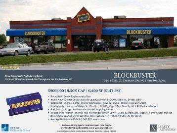 BLOCKBUSTER Video BLOCKBUSTER - EXP Realty Advisors