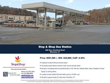 Stop & Shop Gas Station - EXP Realty Advisors