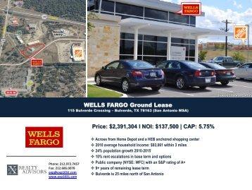 Wells Fargo Ground Lease - EXP Realty Advisors