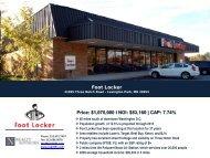Foot Locker - EXP Realty Advisors
