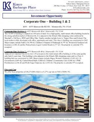 Corporate One – Building 1 & 2 - EXP Realty Advisors