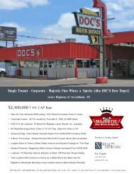 corporate majestic fine wines & spirits | lubbock | texas - EXP Realty ...