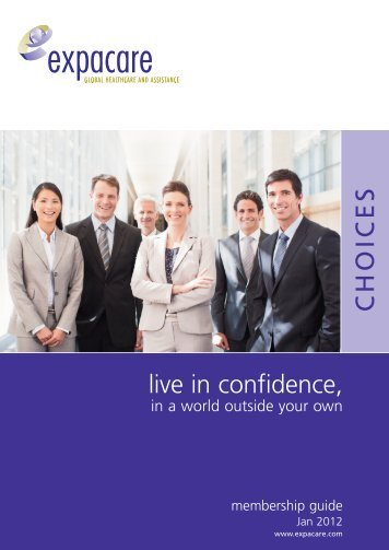 Choices Membership Guide 2012 - Expacare