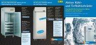 Aktion Kühl- und Tiefkühlschränke