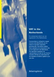 Vat in the Netherlands - Expatax
