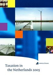 Taxation in the Netherlands 2005 - Expatax