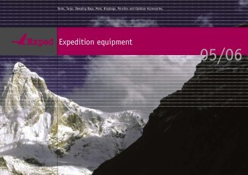 Expedition equipment - Exped.com exped