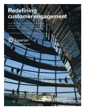 Redefining customer engagement - Experian