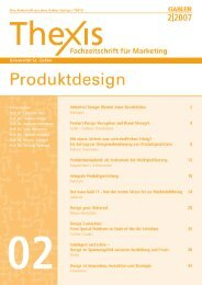 Product-Design Perception And Brand Strength - Experimental ...