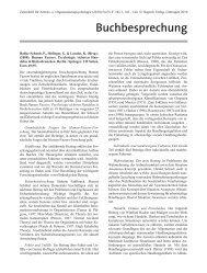 Buchbesprechung - Experimental-psychology.com