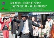 """auf achse: dorfplatz 2012 """"tauschkultur – kulturtausch"""" - FLEISCHEREI"""