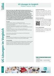 UC-Lösungen im Vergleich - ExperTeach