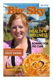health + wellness - Explore Big Sky