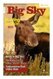 Issue #1 - Explore Big Sky