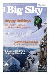Happy Holidays - Explore Big Sky