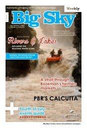 Rivers & Lakes - Explore Big Sky