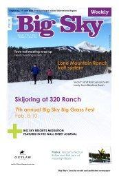 Skijoring at 320 Ranch - Explore Big Sky