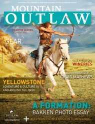 Mountain Outlaw Magazine - Explore Big Sky