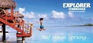 auf die Cook Islands! - Explorer Fernreisen