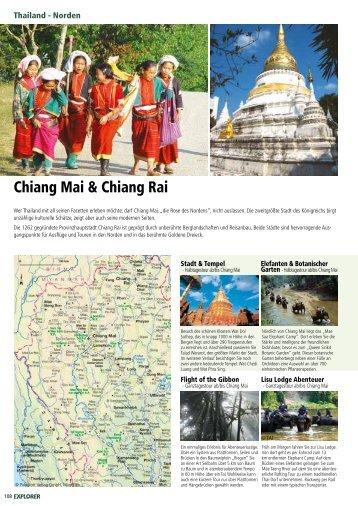 Chiang Mai & Chiang Rai Hotels