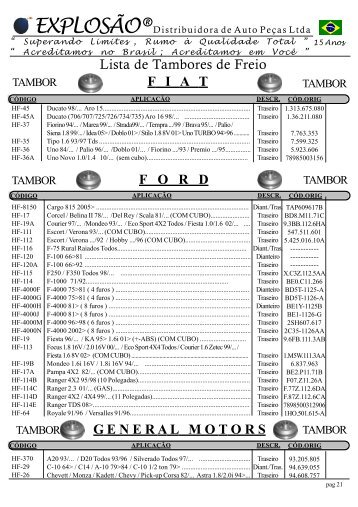 13 Lista de Disco e Tambores 3.p65