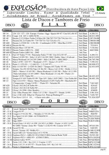 11 Lista de DISCO e TAMBORES 1.p65
