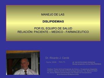 hiperlipemia - Dr. Ricardo Cerdá - ExpoFarmacia