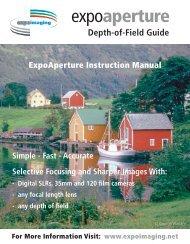 ExpoAperture Instruction Manual (Adobe Acrobat .pdf) - ExpoImaging