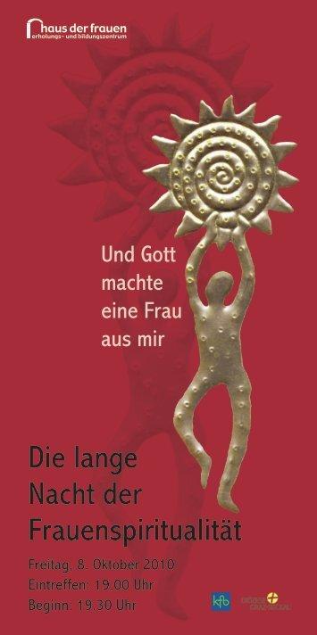 Die lange Nacht der Frauenspiritualität - Export.co.at