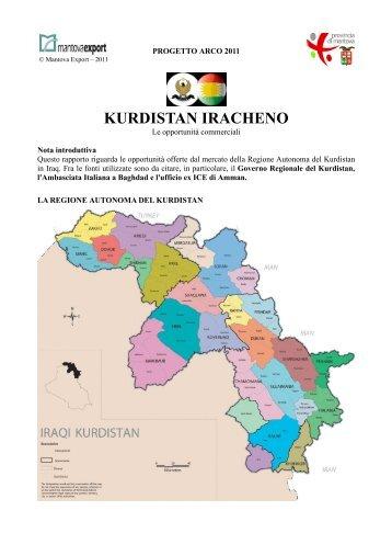 KURDISTAN IRACHENO - Mantova Export Consortium