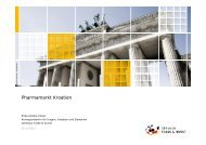 Pharmamarkt Kroatien - Exportinitiative Gesundheitswirtschaft