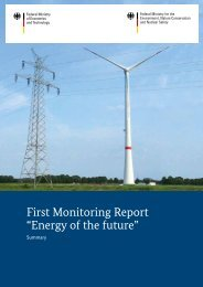 """First Monitoring Report """"Energy of the future"""" - Bundesnetzagentur"""
