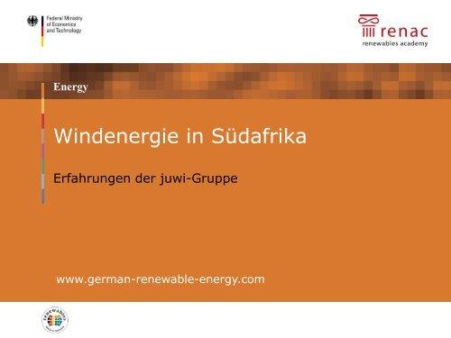 PDF: 538,1 KB - Exportinitiative Erneuerbare Energien