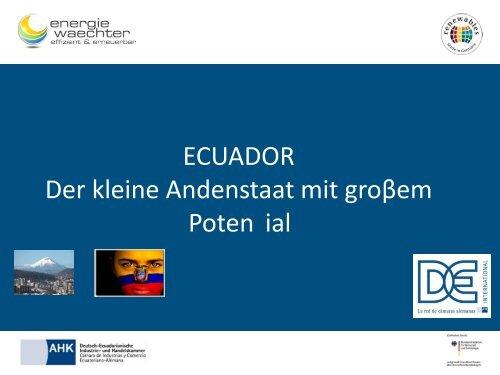 PDF: 798,7 KB - Exportinitiative Erneuerbare Energien - BMWi