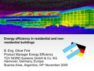 Energy efficiency in residential and non- residential buildings