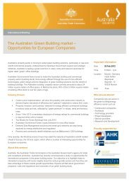 is likely to impact significantly on existing building stock and on the ...