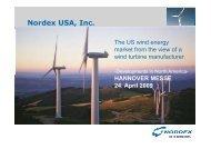Nordex USA, Inc.