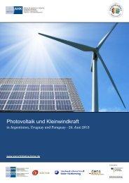 Photovoltaik und Kleinwindkraft - Exportinitiative Erneuerbare ...