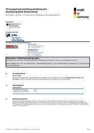 Teilnahmebedingungen - PCV Expo 2013 (PDF ... - expotec gmbh