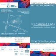 CONVITE (PDF - 740 kb) - EXPO VENDING & OCS