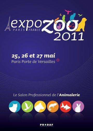 25, 26 et 27 mai - Expozoo