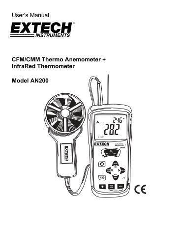 EXTECH AN200 Manual - Extech Instruments