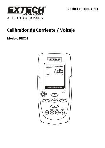 Calibrador de Corriente / Voltaje - Extech Instruments