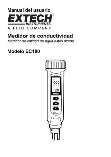 Medidor de conductividad - Extech Instruments