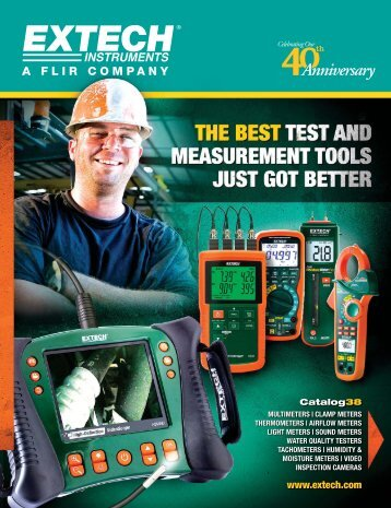 Extech Product Catalog - Extech Instruments