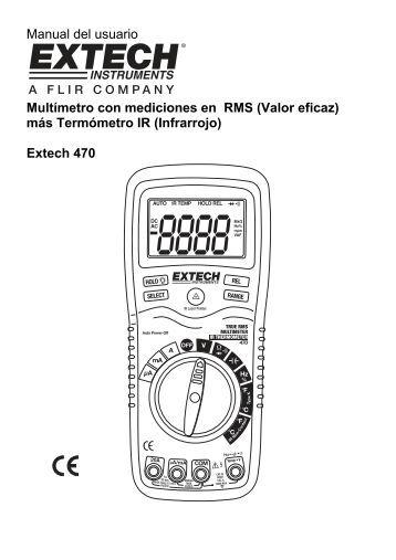 Multímetro: ¿Cómo se hace para medir?