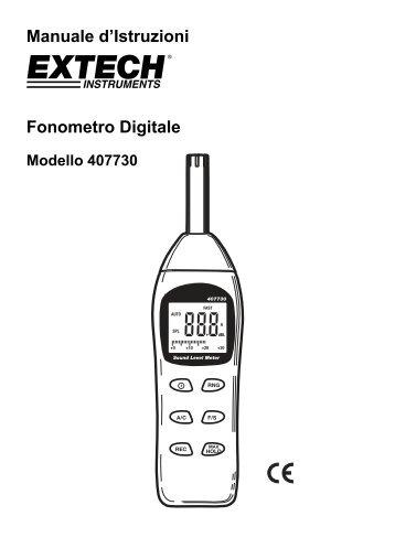 Bilancia digitale Manuale delle instruzioni SK