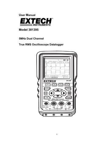 Model 381395 - Extech Instruments