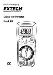 Digitale multimeter - Extech Instruments