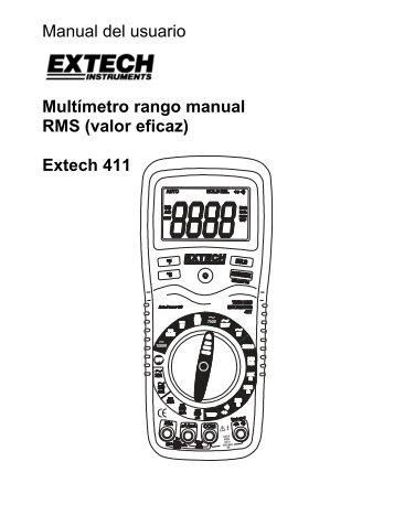 Extech 411 - Extech Instruments